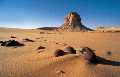 Pharaonic desert police station. Muhattah Jaqub (AbuBallas Trail): in ...